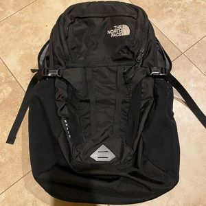 North Face Recon Backpack Black